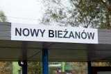 Krakow tram-Nowy Biezanow sign