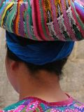 Lady with headwrap