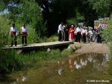 Blessing acequia