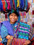 Panajachel girl vendor