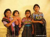 Girls in Santiago Atitlán
