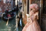 Solange Merentier During Venice Mask Carnival 2013