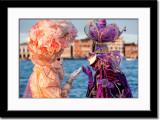 Solange and Swan Venezia Conversing