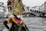 Anna Garusi During Venice Mask Carnival 2013