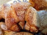 Polish sunken croissants