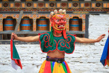 Tsechu Dancer