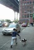 Rahil and Bruno in Brooklyn