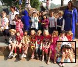 Rahil's first grade class on International Day