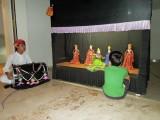 Evening puppet theater
