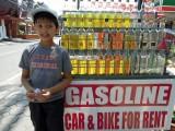 Koh Samui gasoline station
