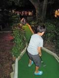Miniature golf in Koh Samui