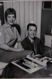 Rick courting first wife-to-be Kathy.  (c. 1958)