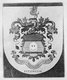 (Close-up of the Fitzhugh family crest.)
