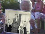 Granny fingers Bill and Rick as the culprits.  (c. 1988)