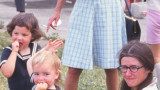 Note egg in Granny's right hand.  (c. 1970)
