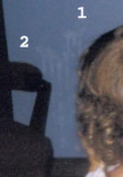 Support for Granny's 'two-thrower' theory (close up).  (c. 1978)
