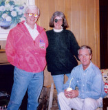 A typical 1970s-era photo of the three principal suspects.  (c. 1976)