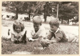 The obsession began at an early age.  (c. 1946)