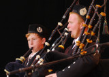 Opening ceremony bagpipes