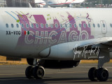 Volaris 320 with Chicago theme sticker