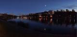 Karlbergs sjö at night
