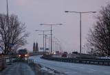 Commuters on Västerbron