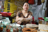 The saleswoman