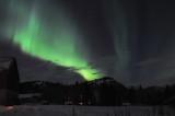 Aurora borealis .