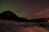 a little aurora borealis