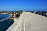 Bahia Honda - the railroad bridge upgraded to walk out on.  Views are great!