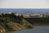 Central Malaga and the Limonero dam