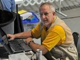 Jim at his computer