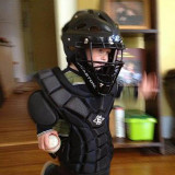 Future Cincinnati Reds Catcher on his 2nd Birthday