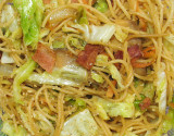 Never Fail Fried Spaghetti and Bacon Stir Fry