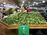 Cucumbers at Farmers' Market in Doraville, Georgia