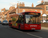 Bus to Nottingham.