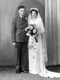 Gerald and Olive Bailey - 27 Jan 1945.