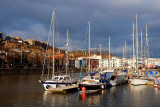 Bristol floating harbour.