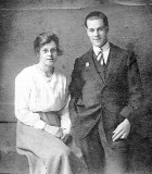 My Mothers parents - Charles and Elsie Sampson.