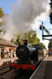 6695 leaving Crowcombe Heathfield bound for Minehead