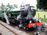 6024 King Edward 1  at Crowcombe Heathfield.