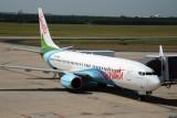 Air Vanuatu B737-800 (YJ-AV1) at Brisbane
