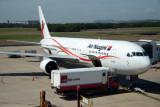 Another trip...Air Niugini B767 at Brisbane