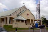 A church on the edge of Suva