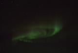 Spiral aurora, Northern Canada