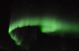 Aurora borealis and the Big Dipper, Northern Alberta, Canada