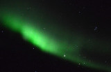 Aurora borealis and the Pleiades, Northern Alberta, Canada
