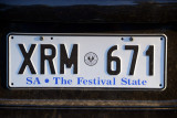 SA The Festival State license plate