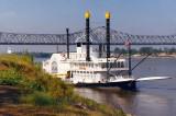 Mississippi River Paddle Steamer, Natches MS