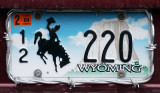 Wyoming plate